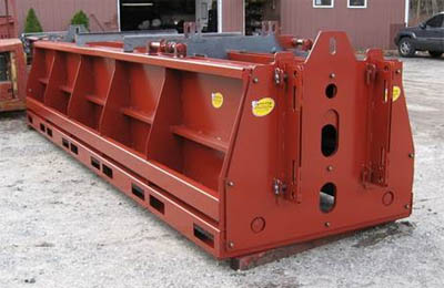 Standard double cavity 20 foot long higway barrier form